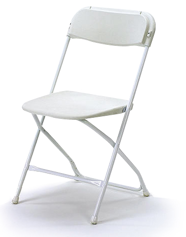 White Folding Chair Samsonite Celebrations Event Amp Decor