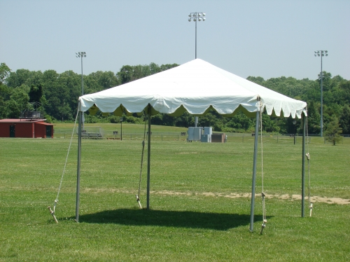 Frame Tent 10ft x 10ft – Celebrations Event & Decor Rental