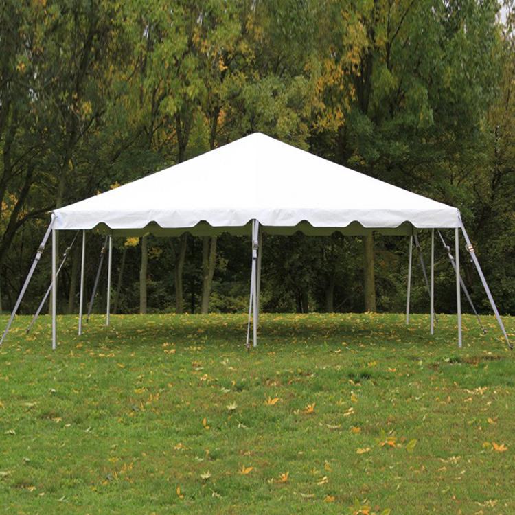 Frame White Tent 20ft  x 20ft – Celebrations Event & Decor